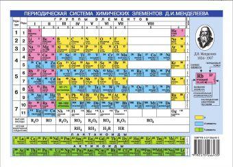 Периодическая система химических элементов Менделеева.Растворимость кислот, оснований и солей в воде. .