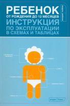 Боргенайт Л. - Ребенок от рождения до 12 месяцев. Инструкция по эксплуатации в схемах и таблица' обложка книги