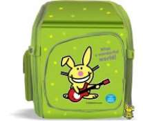 Рюкзак пластик ПР.Кролик Банни 99134 зеленый