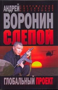 Воронин А.Н. - Слепой. Глобальный проект обложка книги