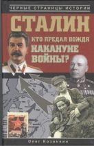 Козинкин О.Ю. - Сталин. Кто предал вождя накануне войны?' обложка книги