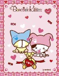 Тел.кн.А6 Barcode Kitties-49100