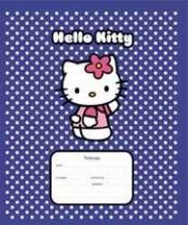 Тет.48л.выб.лак.Hello Kitty -CB-36217