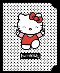 Тет.96л.выб.бл.Hello Kitty Чер.горох-36219(4в)