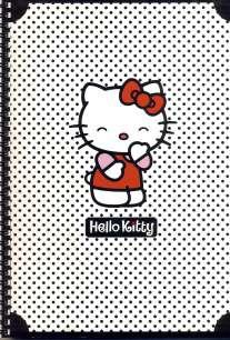 Тет-ГР.80л.А4 Hello Kitty Чер.гор.-36220 (4в)