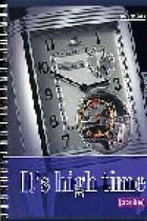 Тетрадь общая на гребне 96л.Часы-35187(4вида) обл-выбор.блестки