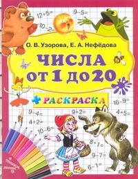 Числа от 1 до 20 + раскраска Узорова О.В.