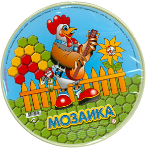 Наст.игр.:ДК.Мозаика круглая-00819