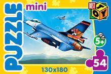 Пазл Мини.54Эл.Самолеты.4 вида.2137