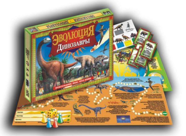 Наст.игр.:ТГ.игра развив. Эволюция. Динозавры арт.00040