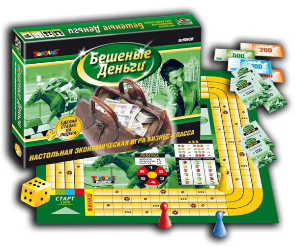 Наст.игр.:ТГ.игра экономическая. Бешеные деньги арт.00077