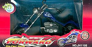 K.DCS.(OLD) Форвард.Мотоцикл серо-синий.в кор.JH1105