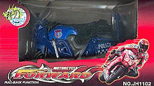 K.DCS.(OLD) Форвард.Мотоцикл синий.в кор.JH1102С