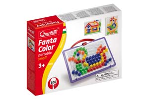 Q. Мозаика-0923/100/15 Фантастические цвета  Мини-набор - 100 элементов.