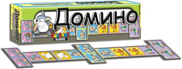 Наст.игр.:ТГ.Домино. В мире животных арт.00140