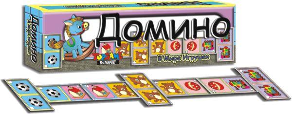 Наст.игр.:ТГ.Домино. В мире игрушек арт.00141