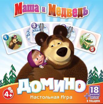 Маша и Медв.Наст.иг:Домино+пазл18А.12546