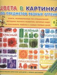 Цвета в картинках. 100 предметов разных оттенков