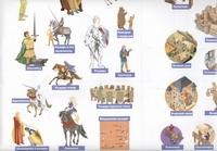 Полуфабрикат. Рыцари, замки, сражения (наклейки)