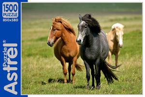 Пазл.1500А.05832 Кони на лугу