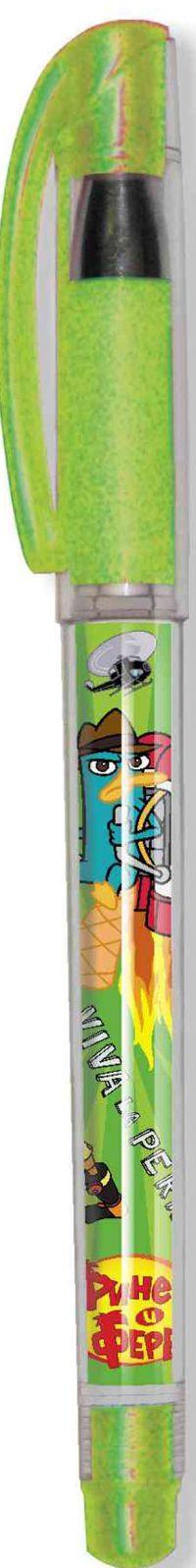 214-0001-PF/10 Ручка гелевая синяя,игольчатый пишущий узел(0,7мм)