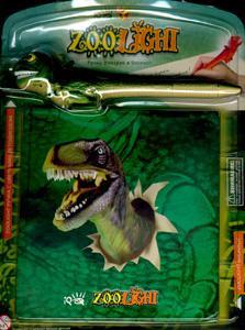 K.IQ.6443.ручка (со светом и звуком) + блокнот Динозавр