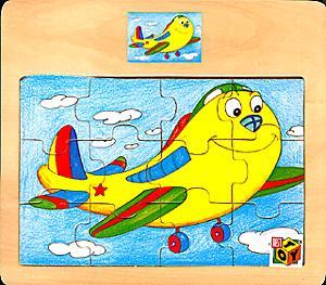 K.TB.4364.Пазл Веселый самолет