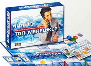 Наст.игр.:ТГ.игра экономическая. Топ-менеджер арт.00080