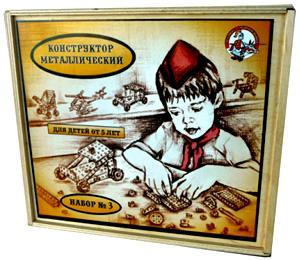 Наст.игр.:ДК.Конструктор мет.№3 982 (дер.уп)