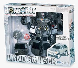 К.HW.50060 Трансформер Toyota Land Cruiser 1:18