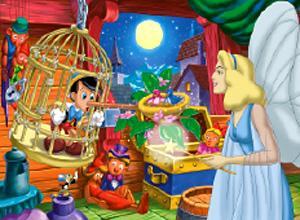 Пазл 60К.26703 Пиноккио макси