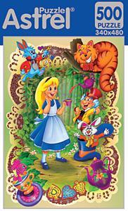 Пазл. 500А. 4182 Алиса в стране чудес