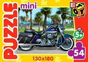 Пазл-мини 54А 5849 Мотоколлекция 4 вида - фото 1