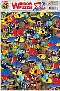 Пазл-ок.88экстр.6166 Тропич.рыбки