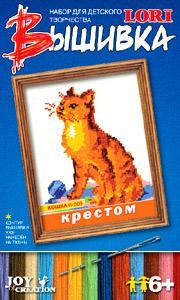 Рст.К.Вышивка крестом Кошка