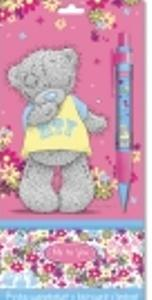 Ручка шарикова автоматическая, синяя (0.7 мм) с бегущей строкой.