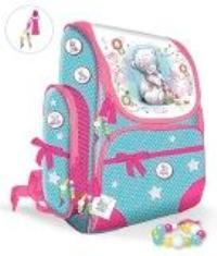 Рюкзак школьный с 3-мя карманами, жестким корпусом, ортопедической спинкой (35x2