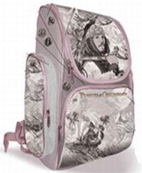 Рюкзак школьный с 3-мя карманами,жест.корпусом,ортопед.спинкой 35х27х16см
