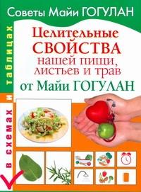 Целительные свойства нашей пищи, листьев и трав от Майи Гогулан Гогулан М.Ф.
