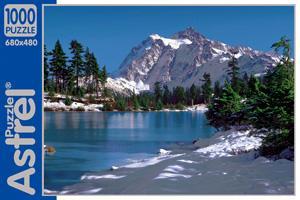Пазл.1000А.05830 Озеро зимой  Канада
