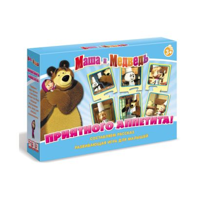 Настольная игра «Маша и Медведь. Приятного аппетита!» - фото 1