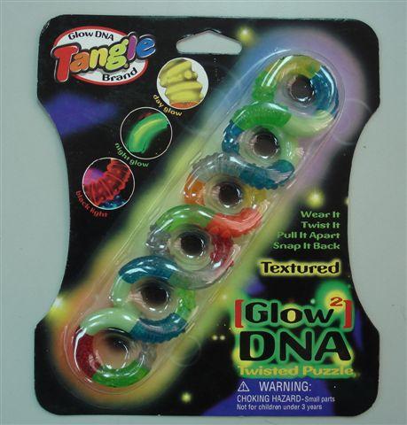 Мини товар.Tangle. Светящийся ДНК.12572