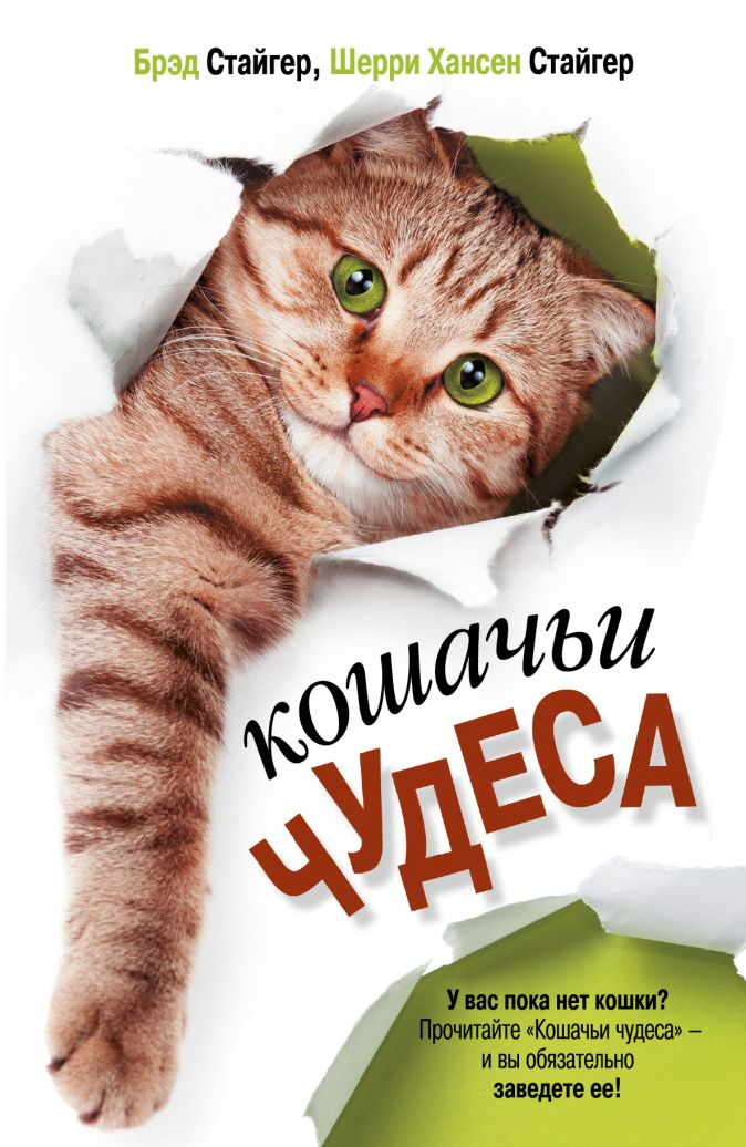 Брэд Стайгер и Шерри Хансен Стайгер - Кошачьи чудеса обложка книги