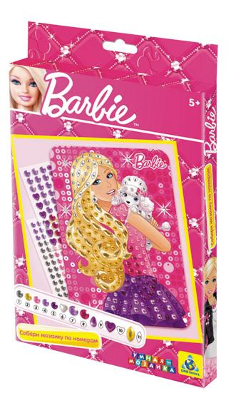 Барби. Мозаика. Барби с собачкой. арт. 05802