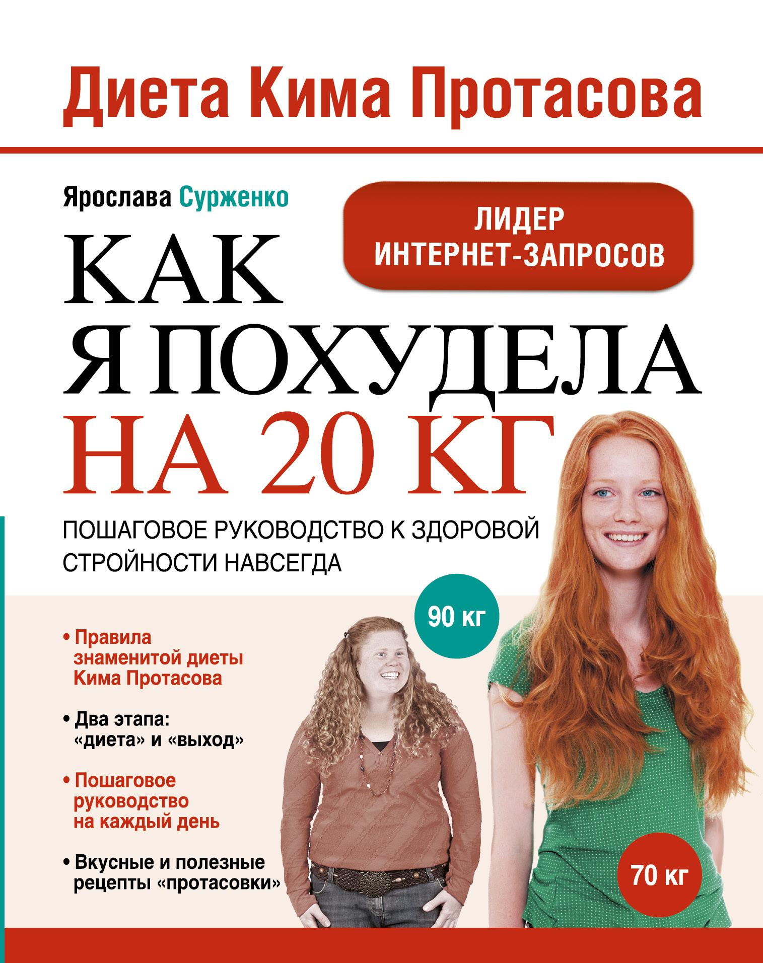 Ярослава Сурженко Диета Кима Протасова. Как я похудела на 20 кг