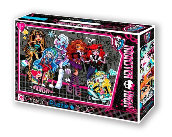Monster High.Пазл.500A.Чем.05488+маркер с блёстками