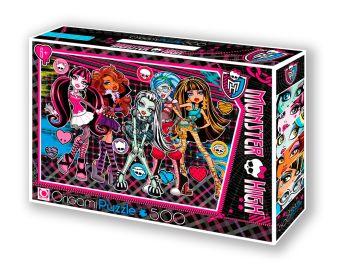 Monster High.Пазл.500A.Чем.05489+маркер с блёстками