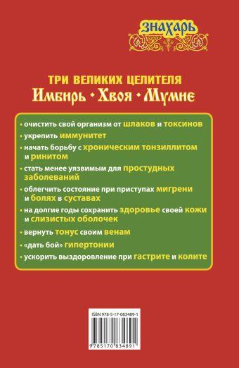 Три великих целителя: имбирь, хвоя, мумиё Михайлов Григорий