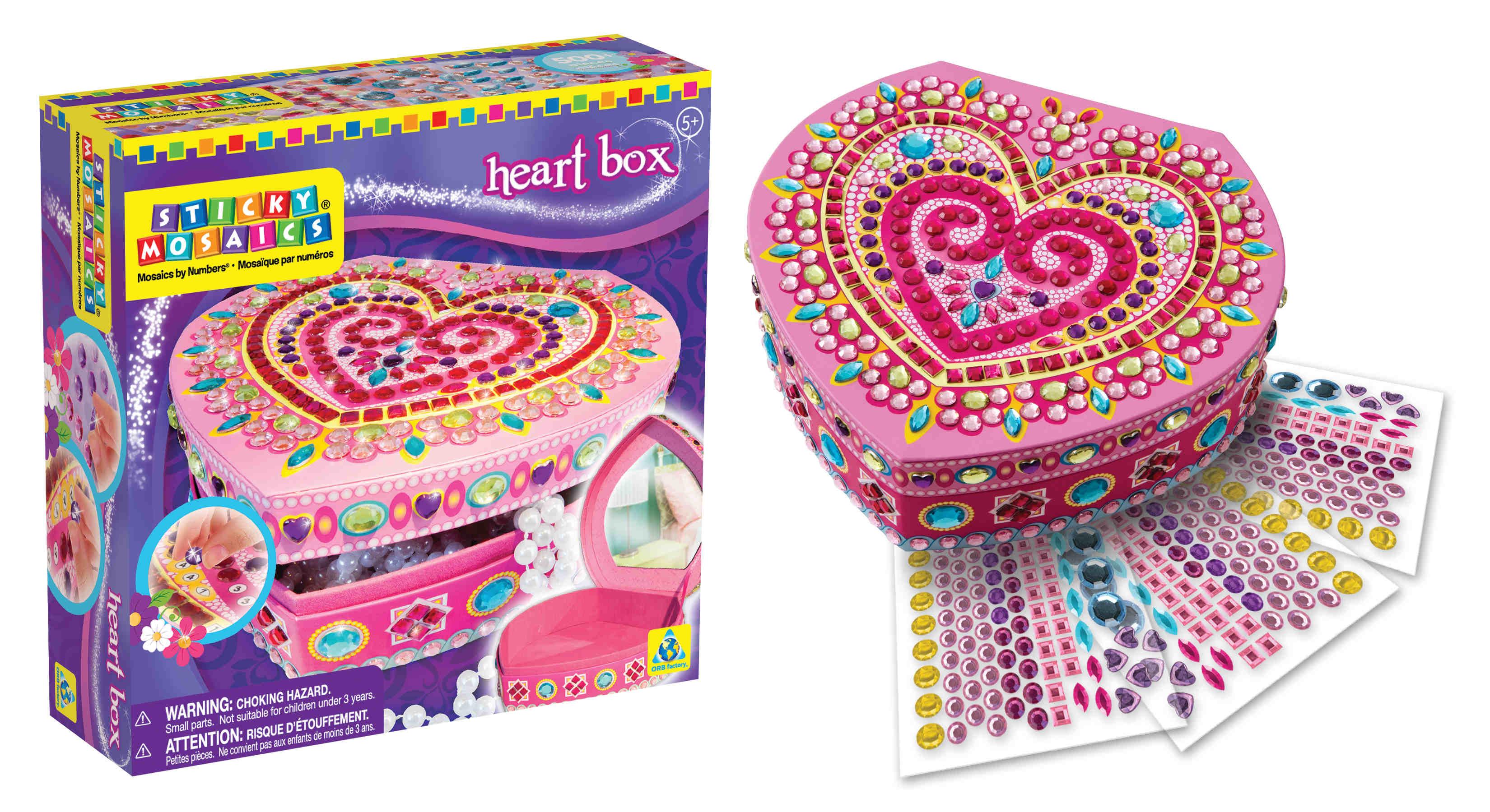 Мозаика-шкатулка. Сердечко арт. 05065 origami мозаика шкатулка складная сердечко оригами