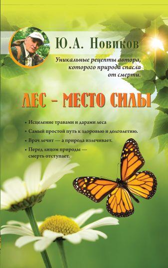 Ю.А. Новиков - Лес - место силы обложка книги